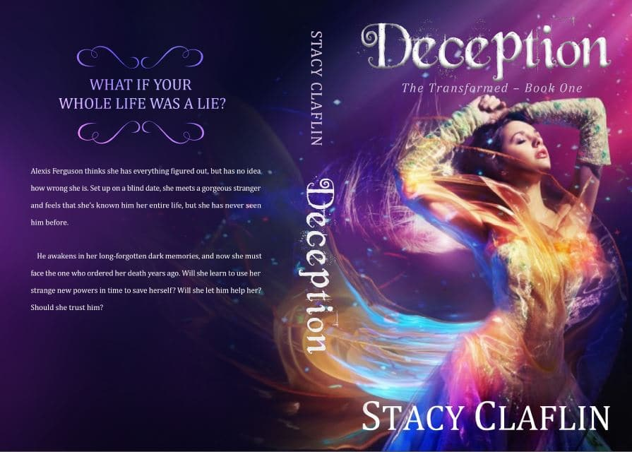 Deception paperback by Stacy Claflin