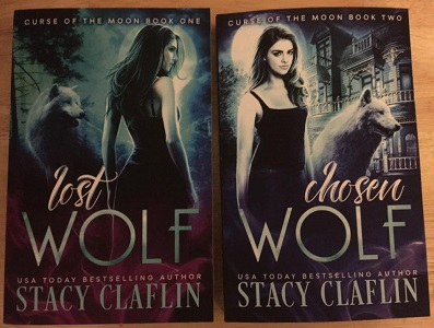 Curse of the Moon paperbacks